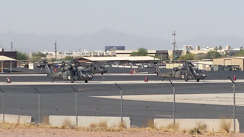 US Army National Guard UH-60 Blackhawk b