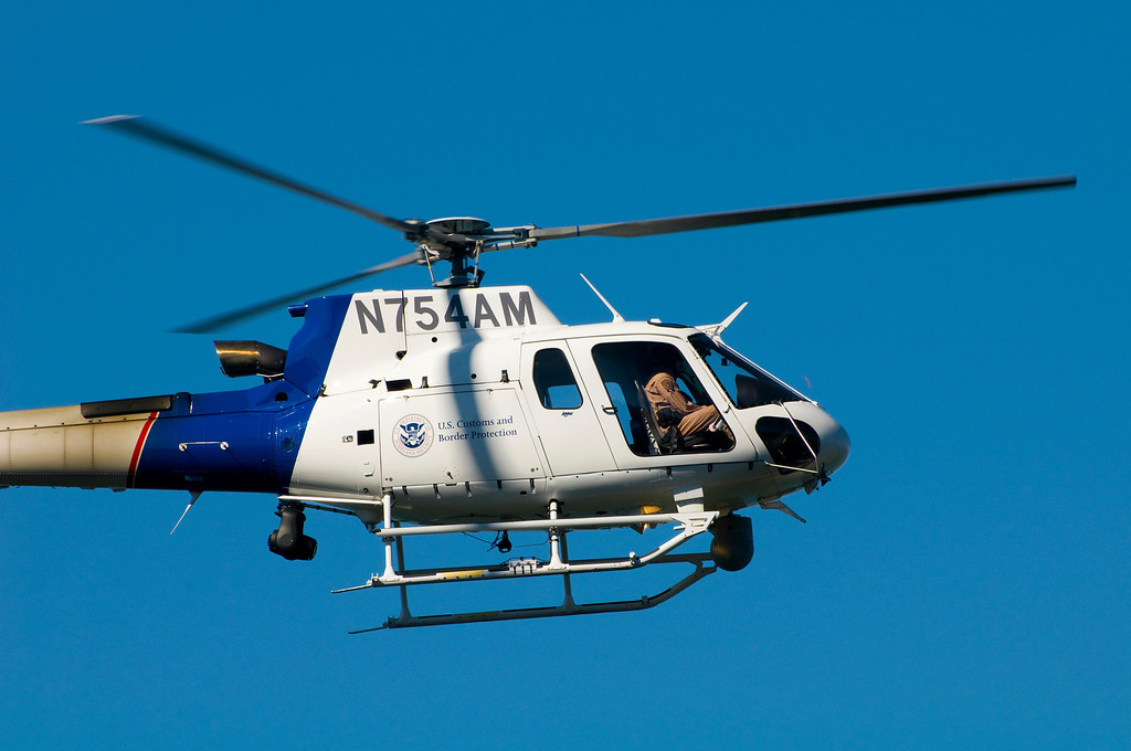 U.S. Customs & Border Protection Helicopter <br /> LOCATION: Bellingham, Washington