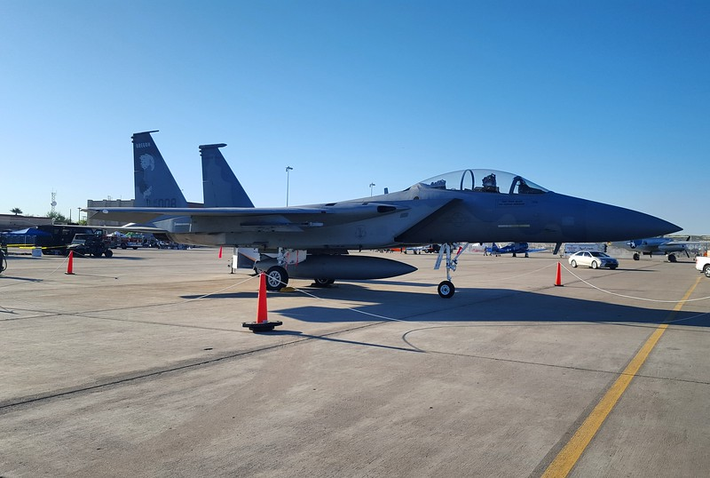 USAF F-15 Eagle McDonnell Douglas Kingsley AFB, OR