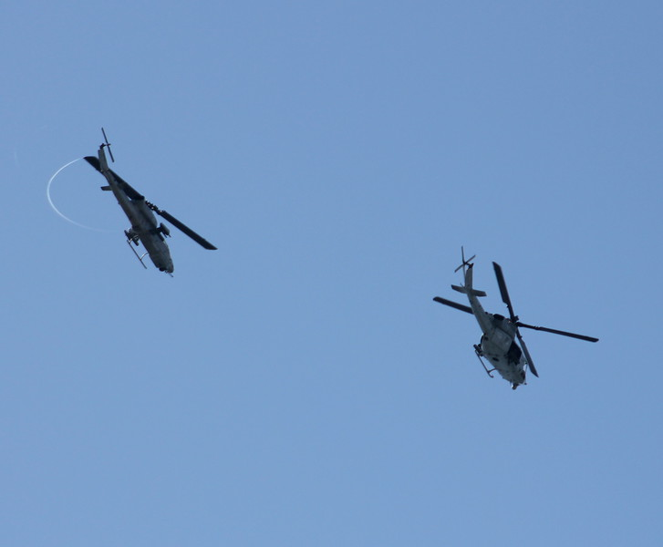 US Marines Cobra & Huey