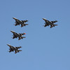 US Air Force F-16 flyover Nascar 3-4-12a
