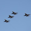 US Air Force F-16 flyover Nascar 3-4-12