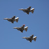 US Air Force F-16 flyover Nascar 3-4-12b