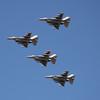 US Air Force F-16 flyover Nascar 3-4-12b