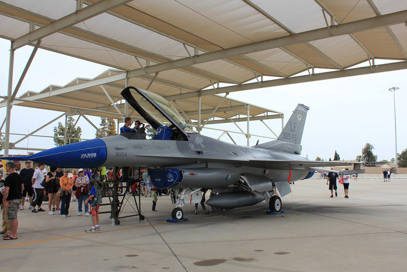US Air Force F-16 Fighting Falcon