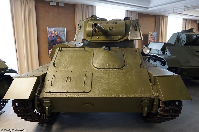 Легкий танк Т-80 (T-80 light tank)