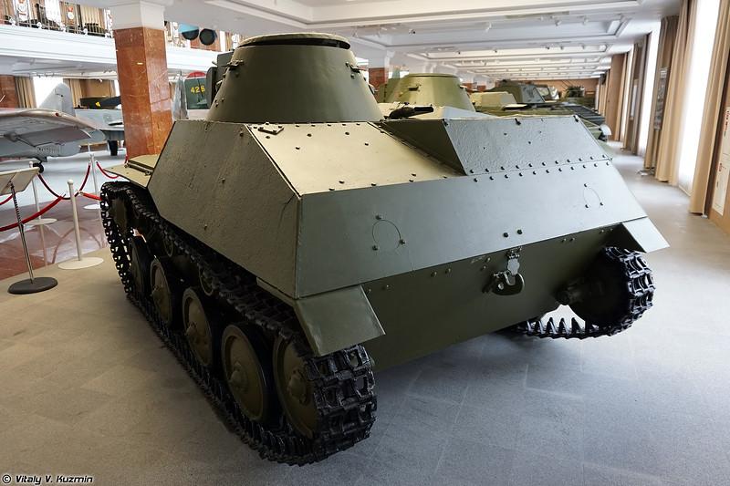 Легкий танк Т-30 (T-30 light tank)