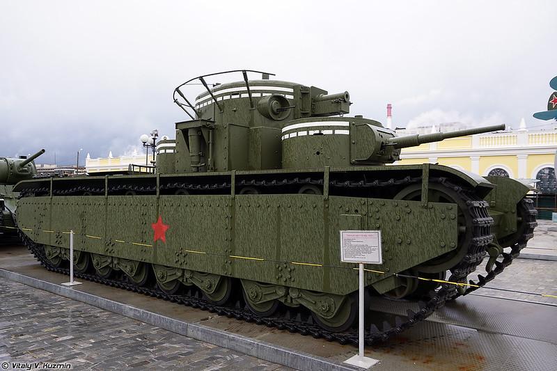 Тяжелый танк Т-35 (T-35 heavy tank)