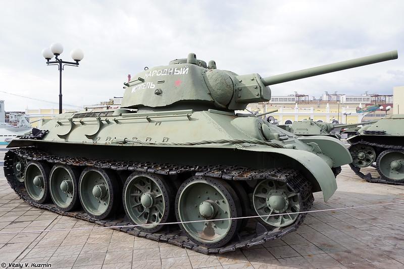 Т-34 образца 1943 г. (T-34-76 mod. 1943)