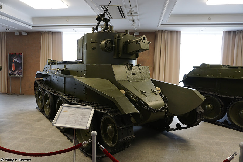 Легкий танк БТ-7А (BT-7A light tank)