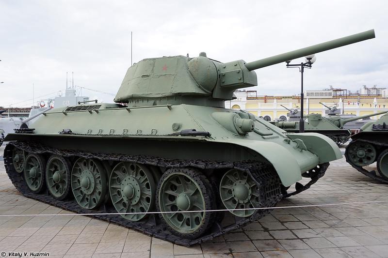 Огнеметный танк ОТ-34 (OT-34-76 flame tank)