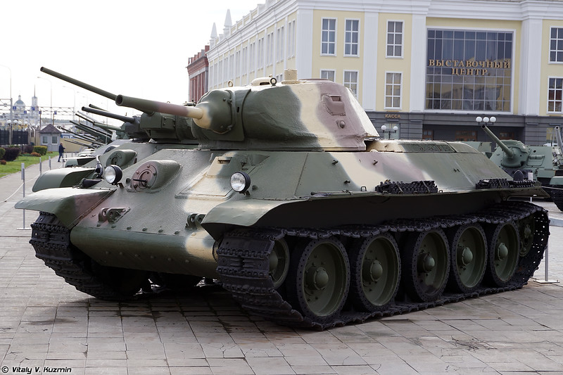 Т-34 образца 1940 г. (T-34-76 mod. 1940)