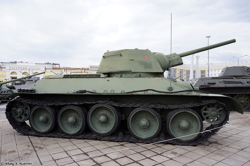 Т-34 образца 1942 г. Омск (T-34-76 mod. 1942 Omsk)