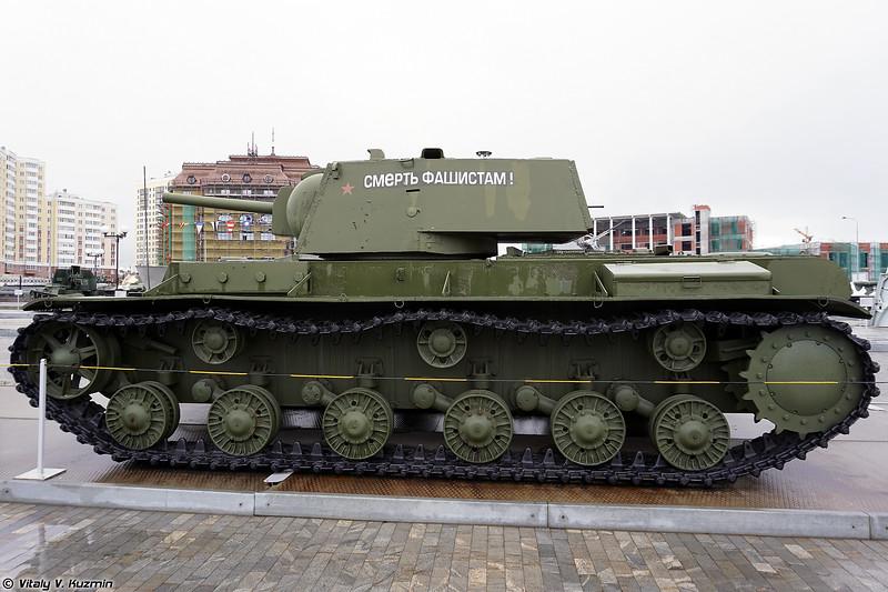 Огнеметный танк КВ-8 (KV-8 flame tank)