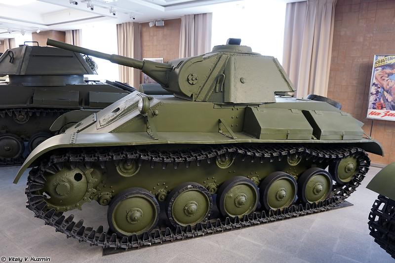 Легкий танк Т-70 (T-70 light tank)