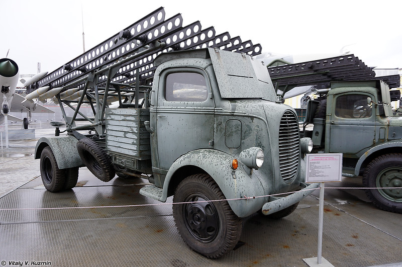 БМ-13-16 Ford Marmon (BM-13-16 Ford Marmon)