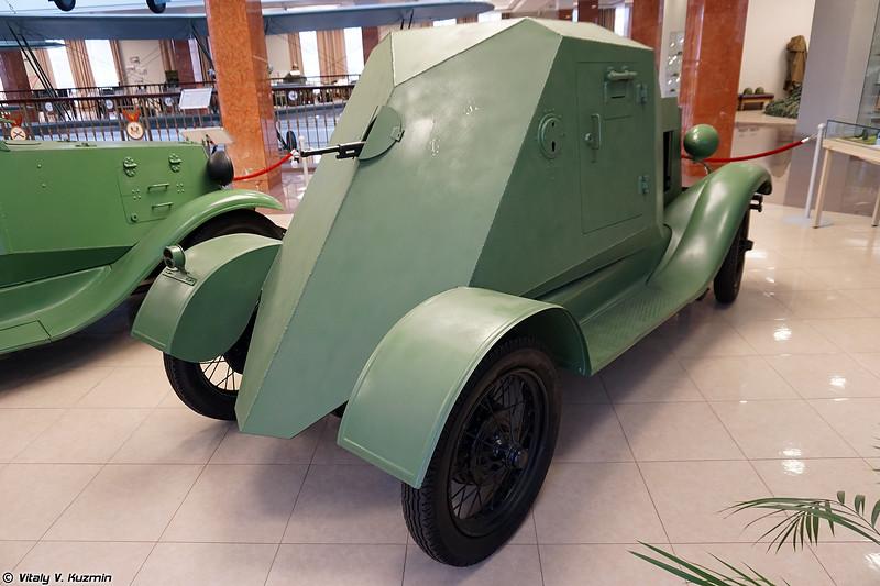 Бронеавтомобиль Д-8 (D-8 armored vehicle)