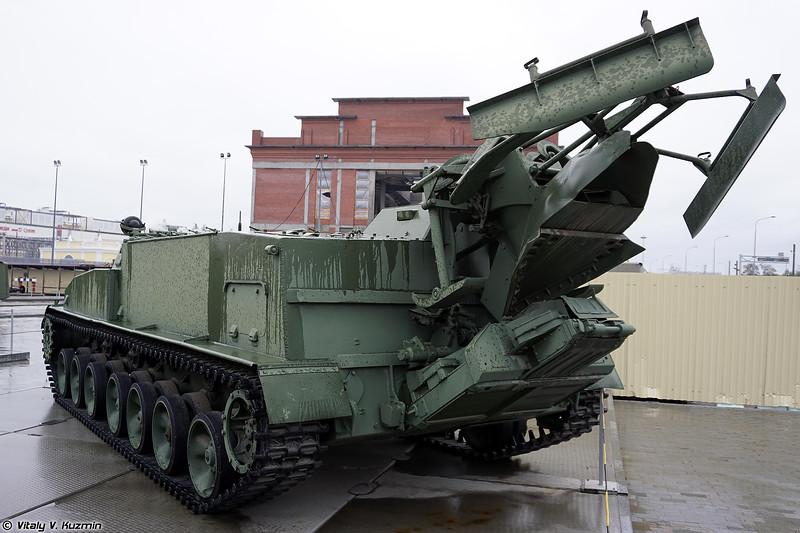 Гусеничный минный заградитель ГМЗ-2 (GMZ-2 mine-layer)