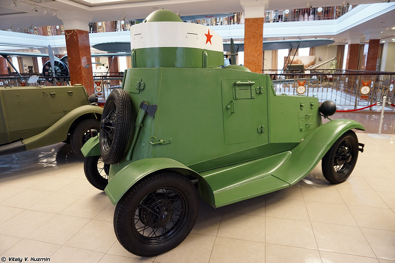 Бронеавтомобиль ФАИ (FAI armored vehicle)