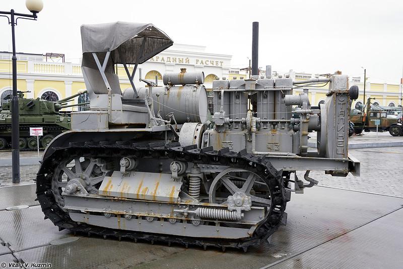 Трактор С-60 Сталинец (S-60 Stalinets tractor)