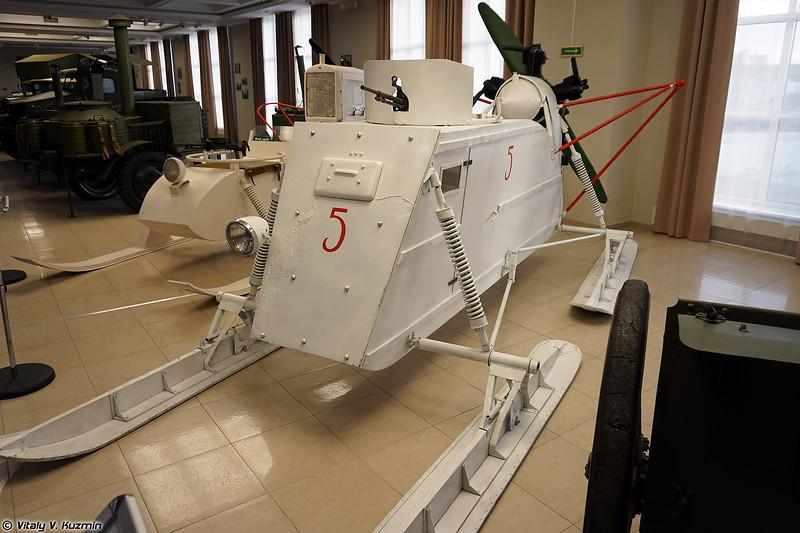 Аэросани НКЛ-26 (NKL-26 aerosledge)