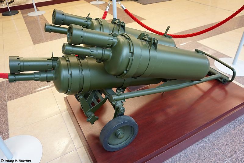 Тяжелый пехотный огнемет ТПО-50 (TPO-50 flamethrower)