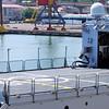 helipad of a military ship