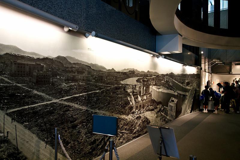 May 9, 2012-Peace Park, Hiroshima, Japan. A-Bomb Dome.