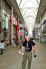May 9, 2012-Hiroshima, Japan. In the Ginza (Shopping) area.