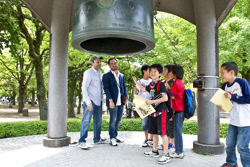 May 9, 2012-Peace Park, Hiroshima, Japan.