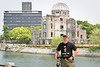 May 9, 2012-Peace Park, Hiroshima, Japan.