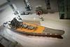 Kure shipyard museum. Battleship Yamamoto 1/10 scale model.