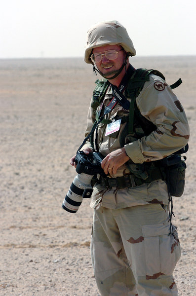Me in the Egyptian Desert September and October, 2005. Taken by my GREAT friend, Staff Sergeant Donnie Reeves. Love ya, Donnie! You are the best!!