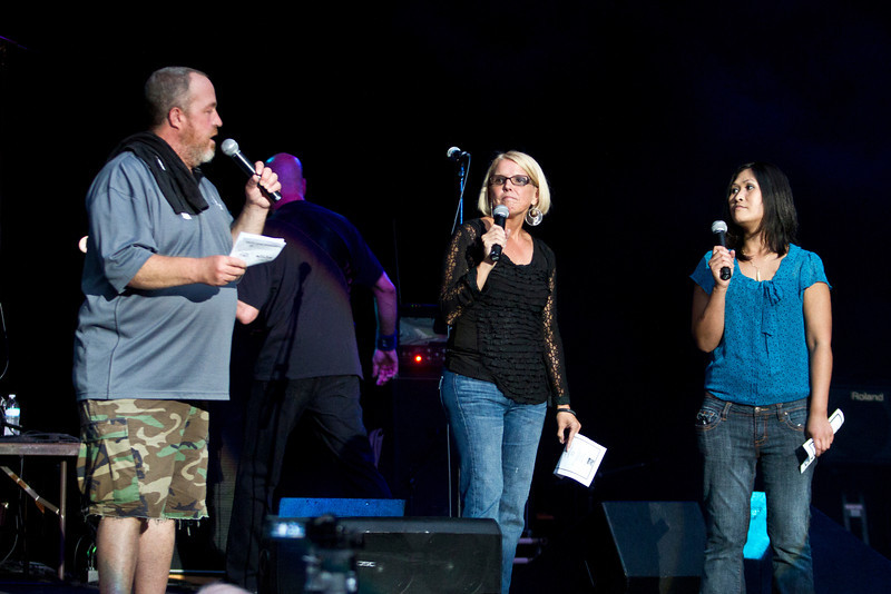 Sept. 8, 2012-Peachtree City, GA-The Warriors Concert to benefit the Wounded Warrior Project at the Frederick Brown Ampitheater.