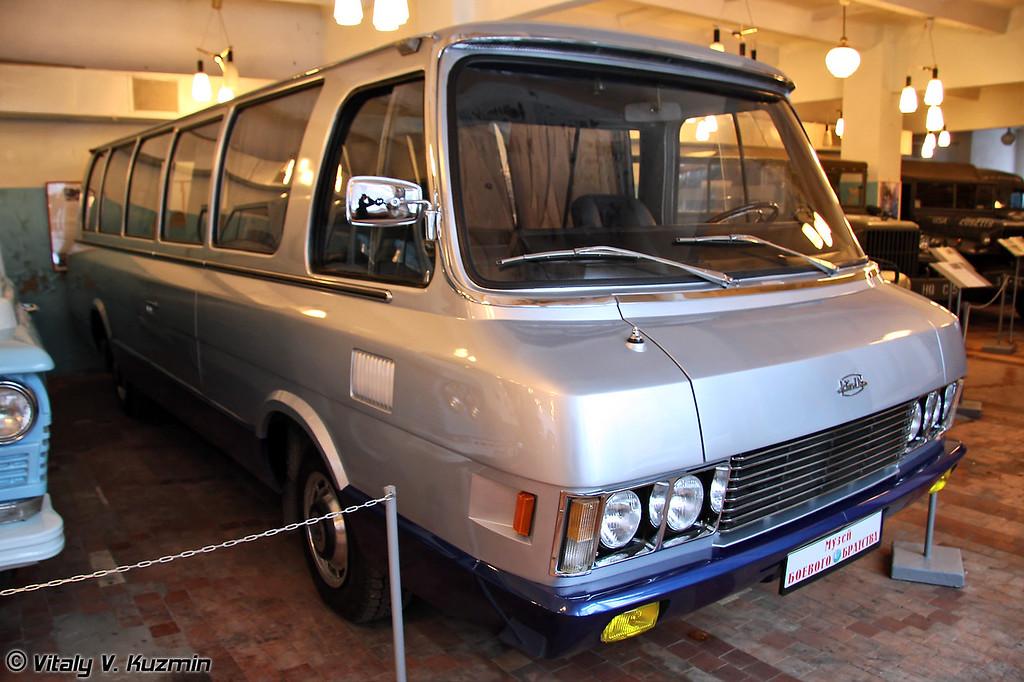 Автобус ЗИЛ-118К Юность (ZIL-118K Yunost' bus)