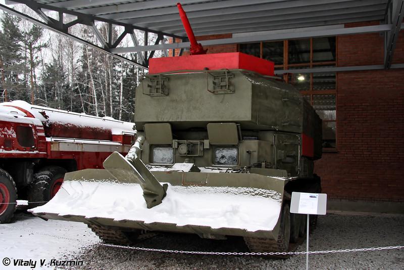 Гусеничная пожарная машина ГПМ-54 (GPM-54 tracked fire fighting vehicle)