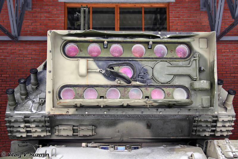 Самоходный лазерный комплекс 1К17 Сжатие (Self-propelled laser system 1K17 Szhatie)