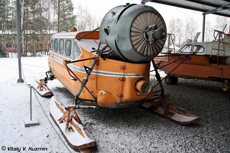 Аэросани Ка-30 (Ka-30 propeller sleigh)