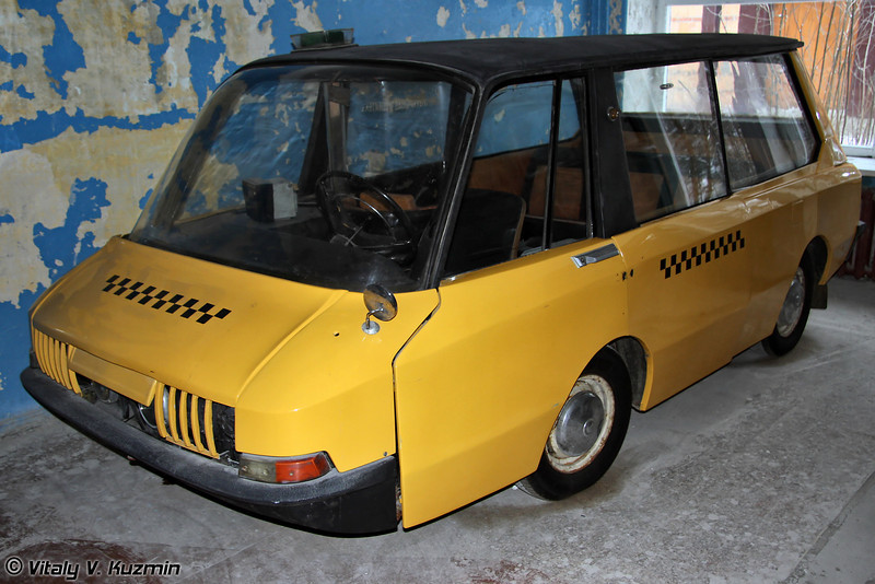Перспективное такси ВНИИТЭ-ПТ (VNIITE-PT taxi prototype)