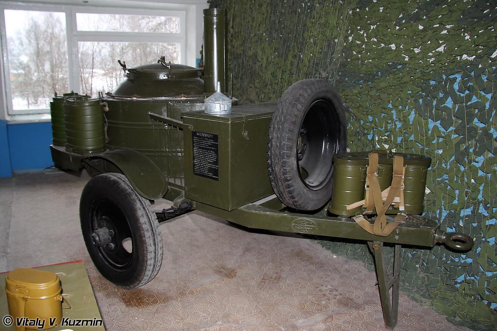 Полевая кухня КП-42М (KP-42M field kitchen)