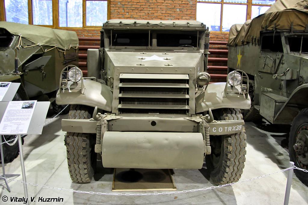 Разведывательная машина M3 Scout Car (M3 Scout Car armored vehicle)