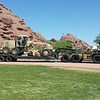 AZ National Guard HEMTT and Grader