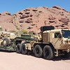 AZ National Guard HEMTT and Grader a