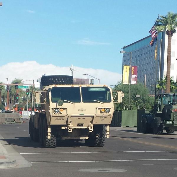 AZ National Guard Oshkosh HEMTT (front)