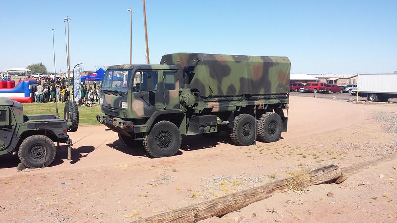 AZ National Guard Oshkosh medium duty
