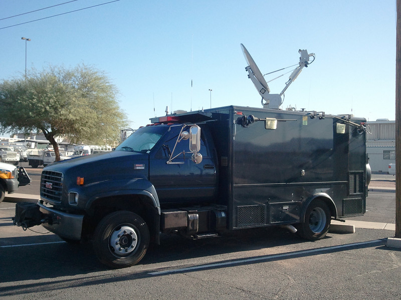 US National Guard 91st CST - GMC C6500 Special Communications Requirements/Wolf Coach