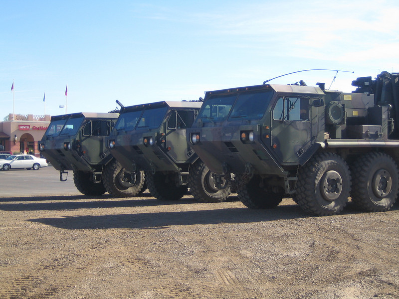 Oshkosh Palletized Load System Trucks