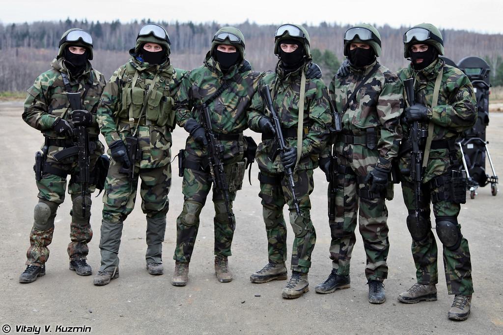 Военнослужащие 604-го центра специального назначения ВВ МВД России (604th Special Purpose Center of Internal troops)