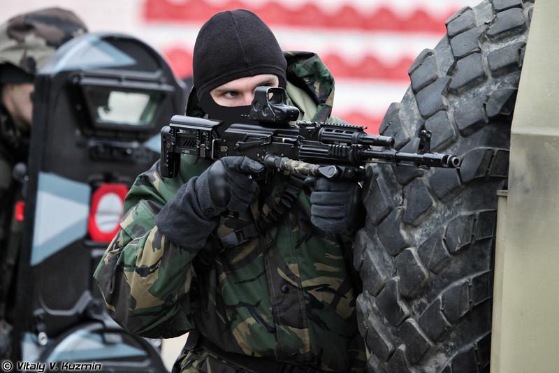 604-й центр специального назначения Витязь ВВ МВД России (604th Special Purpose Center Vityaz of Internal troops)