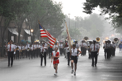 Memorial Day - Naperville, Illinios - 2010 - Marching in the Rain